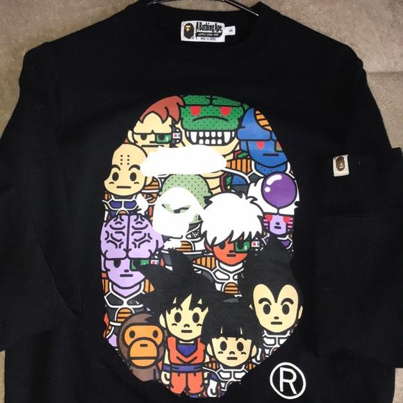 a9f480be Bape Shirts   X Dragon Ball Z Crewneck   Poshmark